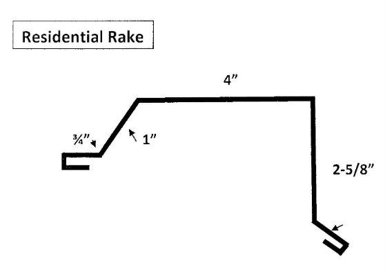 Hardy Rib Residential Rake