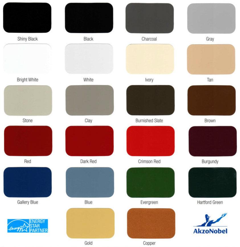 Color Selector Mid Michigan Metal Sales